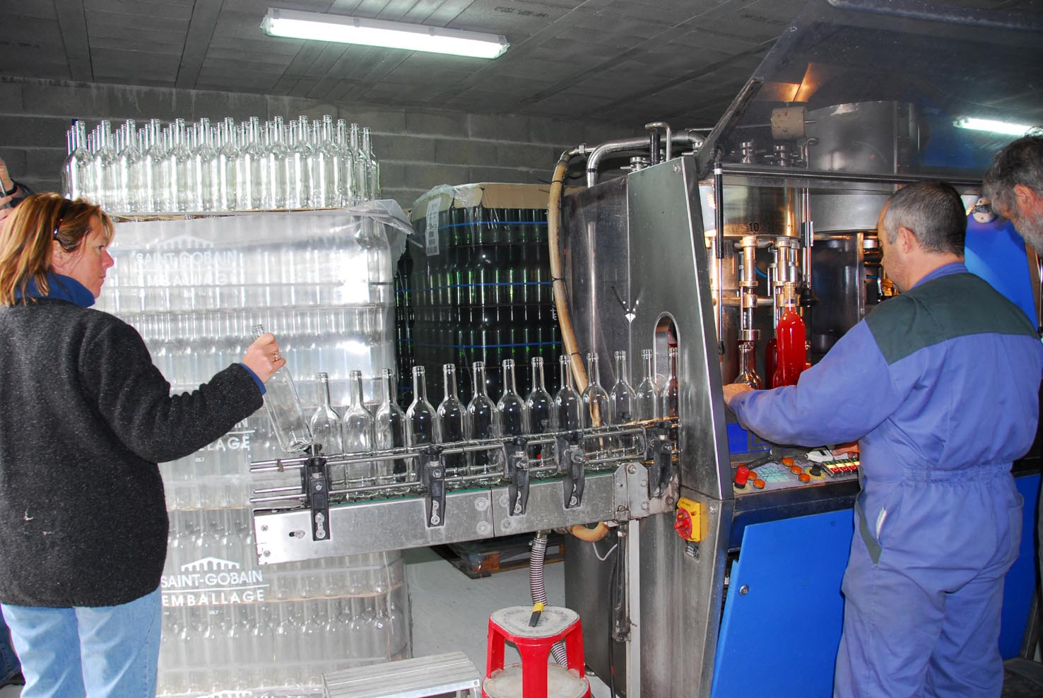 Bottling machine